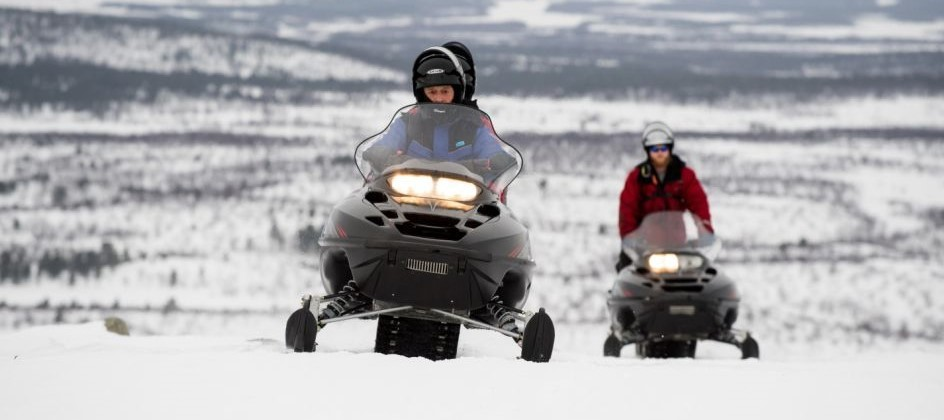 Experience Our Snowmobile Voyager This Holiday | Transun